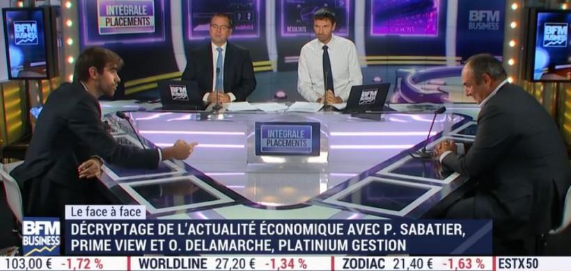 BFM BUSINESS – Olivier Delamarche vs Pierre Sabatier