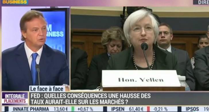 BFM Business – Hausse des taux de la FED: quel impact sur les marchés ? – G. Dard vs. P. Sabatier