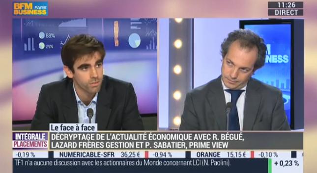 BFM Business – Régis Bégué vs Pierre Sabatier