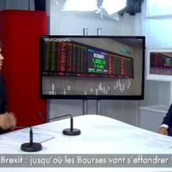 ECORAMA – Brexit : jusqu'où les Bourses vont s'effondrer ?