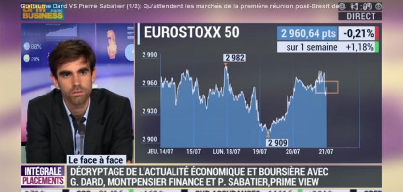 BFM Business – Qu'attendent les marchés de la première réunion post-Brexit de la BCE ?